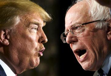Сандерс или Трамп – кто победит?