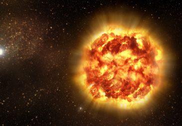 Ученые зафиксировали самый мощный взрыв во Вселенной