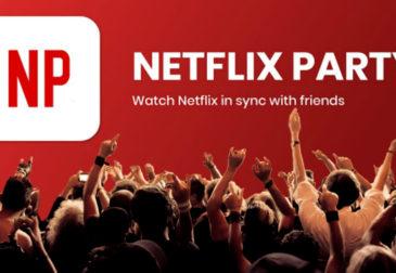 Приложение Netflix Party: смотрите фильмы с друзьями онлайн