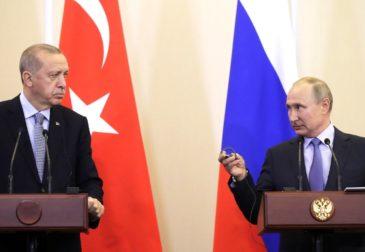 К чему пришли Путин и Эрдоган на переговорах в Москве?