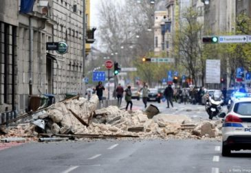 Столица Хорватии пострадала от мощнейшего землетрясения