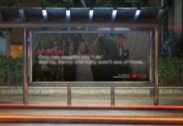 Студенты в Германии развесили плакаты со спойлерами сериалов Netflix