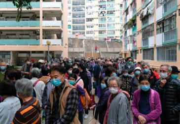 Очередной город в Китае закрыли на карантин
