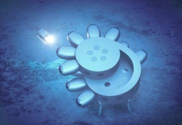 Впервые космическая станция на дне океана