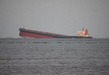 Ужасающие последствия кораблекрушения на Маврикии