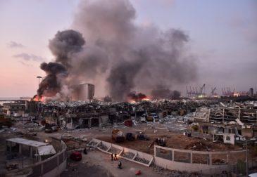 Как уцелела пара молодоженов в Бейрутском взрыве