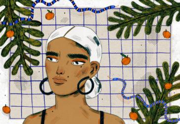 Мода в иллюстрациях Манджит Тапп