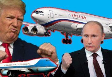 Самолёт для президента США это самая большая и роскошная яхта в небе