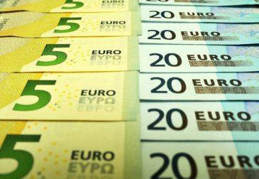 Официальный курс евро вырос до 91,48 рубля