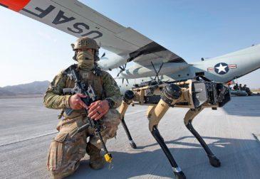 Собаки-роботы заменят солдат США
