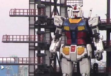 «Первые шаги» японского гигантского робота
