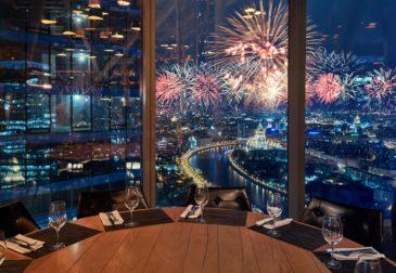 Топ-50 панорамных ресторанов Москвы 2020