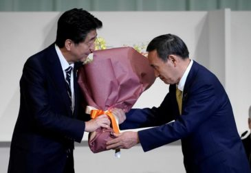 Новый премьер-министр Японии?