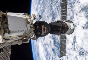 Утечка воздуха на Международной космической станции