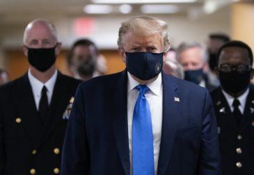 Трамп больше не заразный
