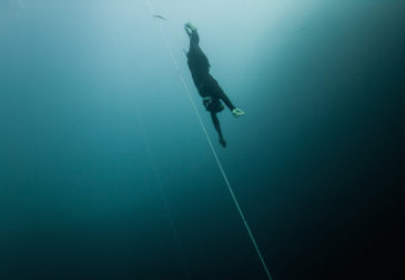 Арно Жеральд: рекордный свободный дайвер