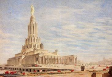 Появилась петиция с предложением достроить Дворец Советов с Путиным на вершине