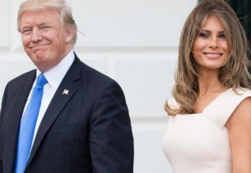 Президент США Дональд Трамп и первая леди Мелания Трамп заразились коронавирусом