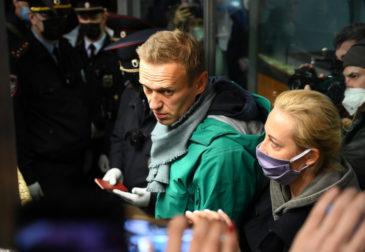 Москва приняла Навального