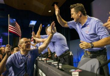 """""""Семь минут ужаса"""" NASA прошли благополучно"""