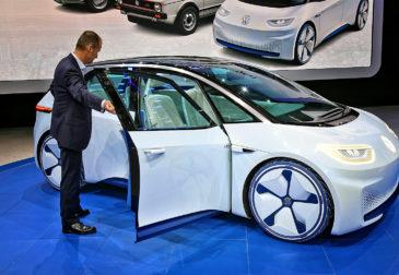 Volkswagen бросает вызов Tesla