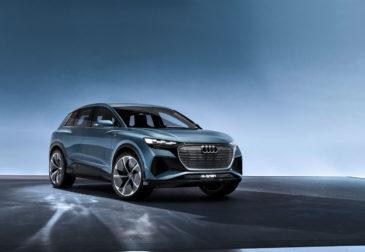 Audi представила самый дешевый электромобиль