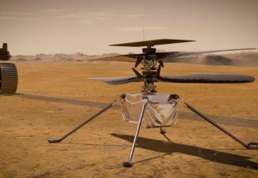 Полет дрона на Марсе или новое достижение NASA