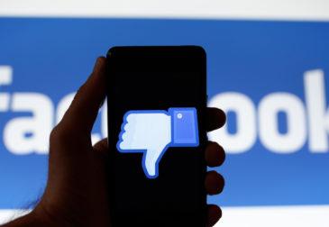 Личные данные пользователей Facebook снова потеряны