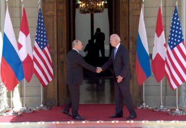 Как прошла встреча Владимира Путина и Джо Байдена