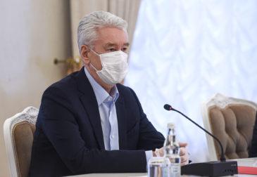 """Собянин назвал ситуацию с распространением коронавируса в Москве """"взрывной"""""""""""