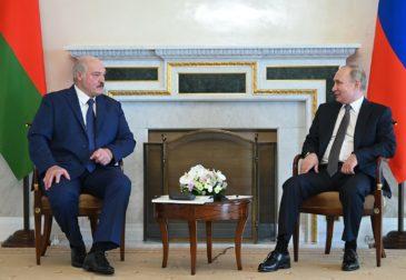 Путин и Лукашенко обсудили цены на газ для Белоруссии на 2022 год